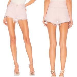 Lovers + Friends Shorts - Lovers + Friends | Jack High Rise Distressed Short
